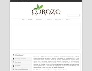 corozobuttons.com screenshot
