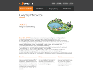 corp.joycity.com screenshot