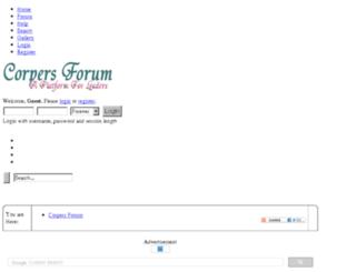 corpersforum.com screenshot