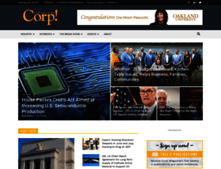 corpmagazine.com screenshot