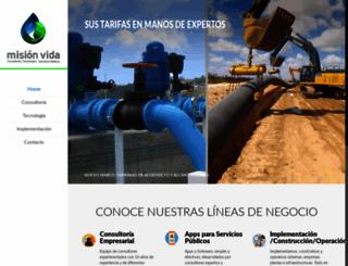 corporacionmisionvida.com screenshot