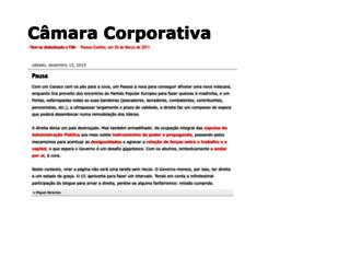 corporacoes.blogspot.pt screenshot