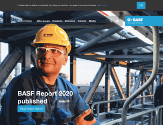 corporate.basf.com screenshot