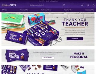 corporate.cadburygiftsdirect.co.uk screenshot