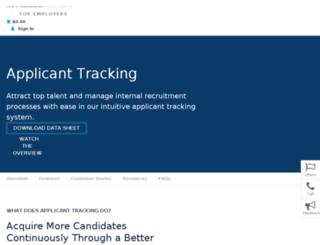 corporate.careerbuilder.com screenshot