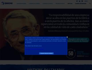corporate.danone.es screenshot