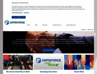 corporate.gameforge.com screenshot