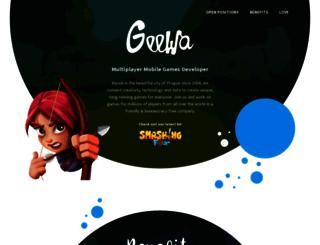 corporate.geewa.com screenshot