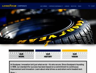 corporate.goodyear.com screenshot