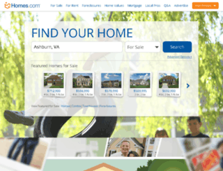 corporate.homes.com screenshot