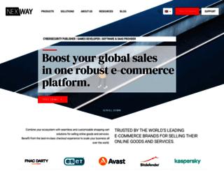 corporate.nexway.com screenshot