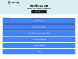 corporate.opellius.com screenshot
