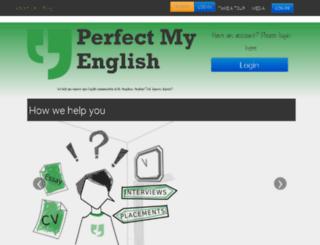 corporate.perfectmyenglish.in screenshot