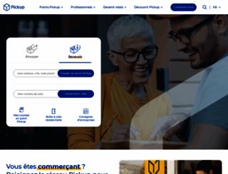 corporate.pickup.fr screenshot