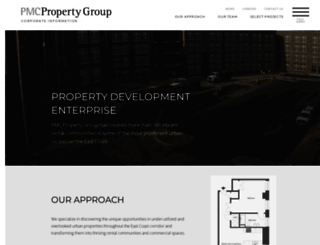 corporate.pmcpropertygroup.com screenshot