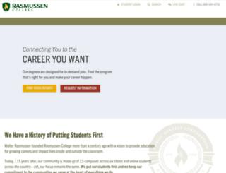 corporate.rasmussen.edu screenshot
