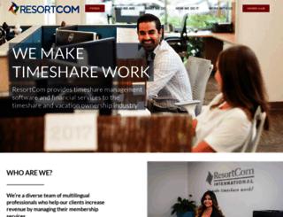 corporate.resortcom.com screenshot