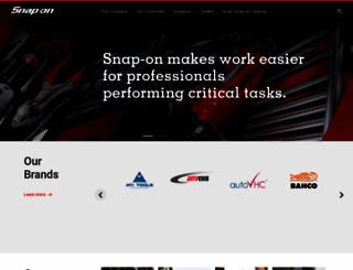 corporate.snapon.com screenshot
