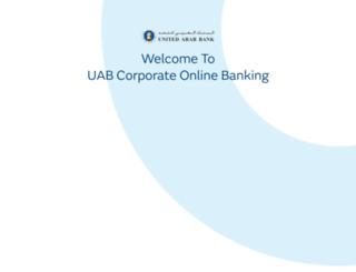 corporate.uab.ae screenshot