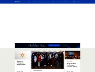 corporate.walmart.com screenshot