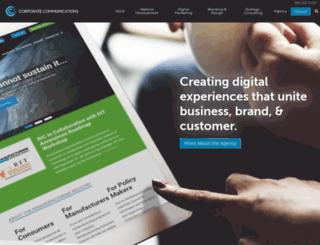 corporatecomm.com screenshot