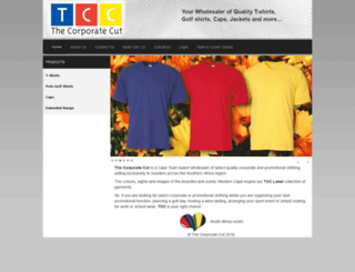 corporatecut.co.za screenshot