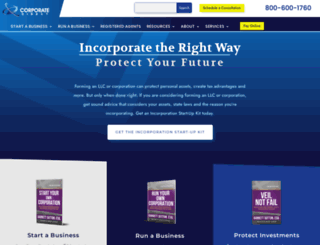 corporatedirect.com screenshot