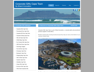 corporategiftscapetown.co.za screenshot