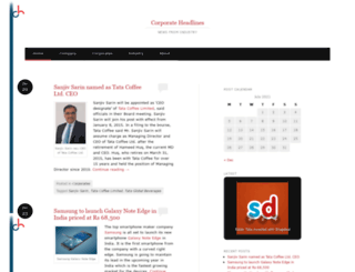 corporateheadlines.wordpress.com screenshot