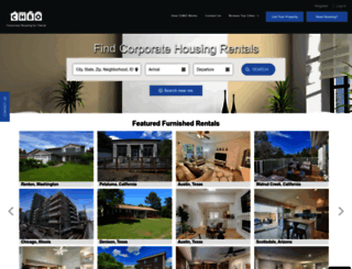 corporatehousingbyowner.com screenshot