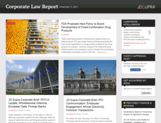 corporatelaw.jdsupra.com screenshot