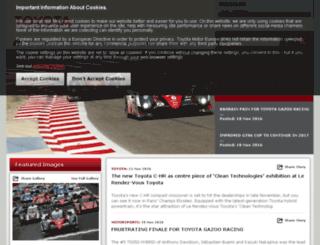 corporatemedia.toyota.eu screenshot