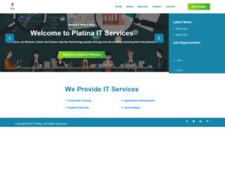 corporateplatina.com screenshot