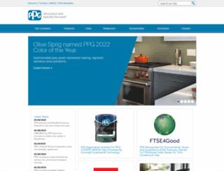 corporateportal.ppg.com screenshot