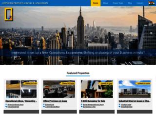 corporaterealtors.com screenshot