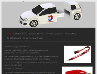corporatestuff.co.za screenshot