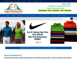 corporatetradeshowapparel.com screenshot