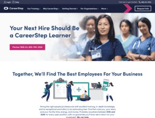 corporatetraining.careerstep.com screenshot