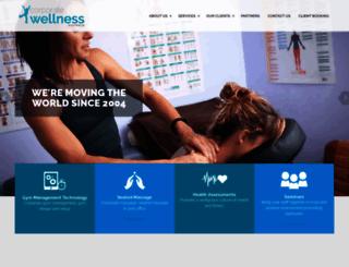 corporatewellness.com.au screenshot