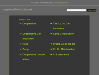 corporativehost.net screenshot