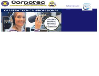 corpotec.edu.co screenshot