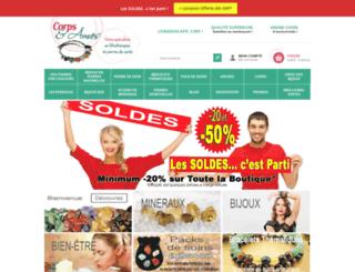 corpsetames.com screenshot