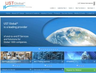 corpsite.ust-global.com screenshot