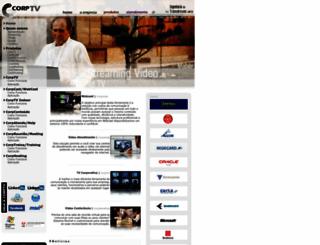 corptv.com.br screenshot