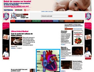 corpul-uman.com screenshot