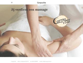 corpuvita.nl screenshot