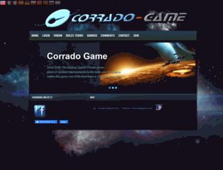 corrado-game.org screenshot
