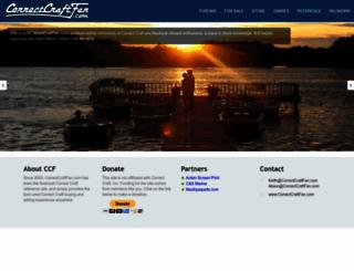correctcraftfan.com screenshot