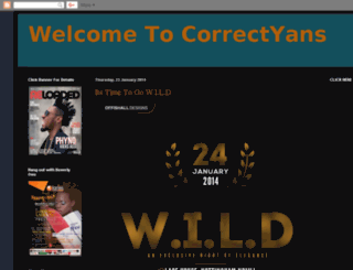 correctyans.blogspot.com screenshot