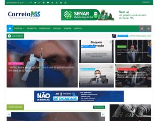 correioms.blogspot.com.br screenshot